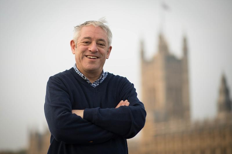 "File photo dated 31/10/2019 of former Commons speaker John Bercow who has said Brexit is ""the biggest foreign policy mistake in the post-war period""."