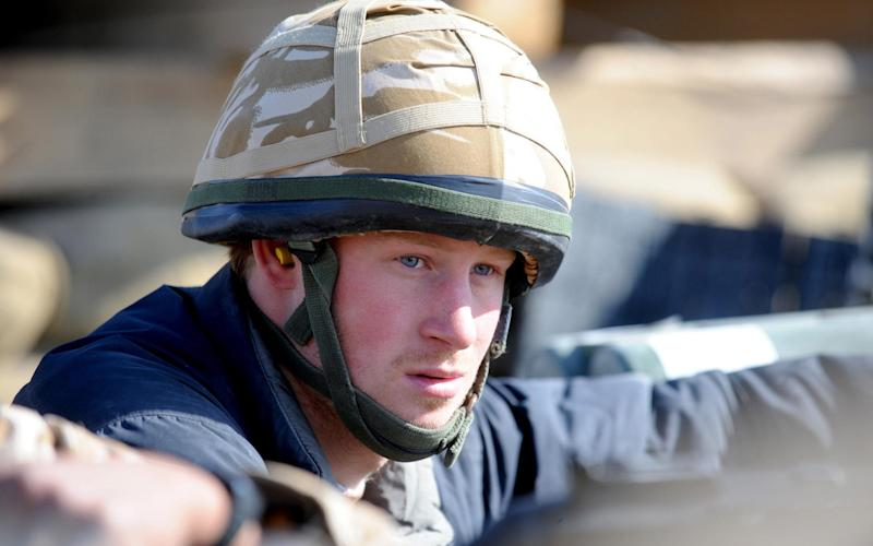 Prince Harry Serves in Afghanistan - Tim Graham Photo Library