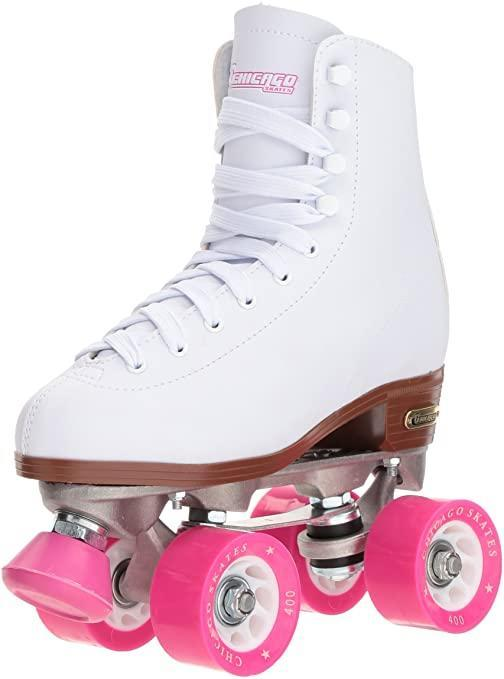 "<h3><a href=""https://www.amazon.com/s?k=roller+skates+for+women&crid=2JXAP7ZW8NTDS&sprefix=roller+skates%2Caps%2C149&ref=nb_sb_ss_organic-diversity_3_13"" rel=""nofollow noopener"" target=""_blank"" data-ylk=""slk:Amazon"" class=""link rapid-noclick-resp"">Amazon<br></a></h3>It should come as no surprise that you can buy roller skates on Amazon. <br><br>The behemoth e-commerce destination stocks popular skate brands like C Seven, Chicago Skates, Riedell, and Sure-Grip.<br><br><br><strong>Chicago Skates</strong> Classic Roller Skates, $, available at <a href=""https://www.amazon.com/Chicago-Womens-Classic-Roller-Skates/dp/B000GVKJDQ/ref=sr_1_2"" rel=""nofollow noopener"" target=""_blank"" data-ylk=""slk:Amazon"" class=""link rapid-noclick-resp"">Amazon</a><br><br><strong>Sock</strong> Classic Quad Artistic Roller Skates, $, available at <a href=""https://www.amazon.com/Classic-Artistic-Roller-Leather-Outdoor/dp/B087QYLYG7/ref=asc_df_B087QYLYG7"" rel=""nofollow noopener"" target=""_blank"" data-ylk=""slk:Amazon"" class=""link rapid-noclick-resp"">Amazon</a><br><br><br>"