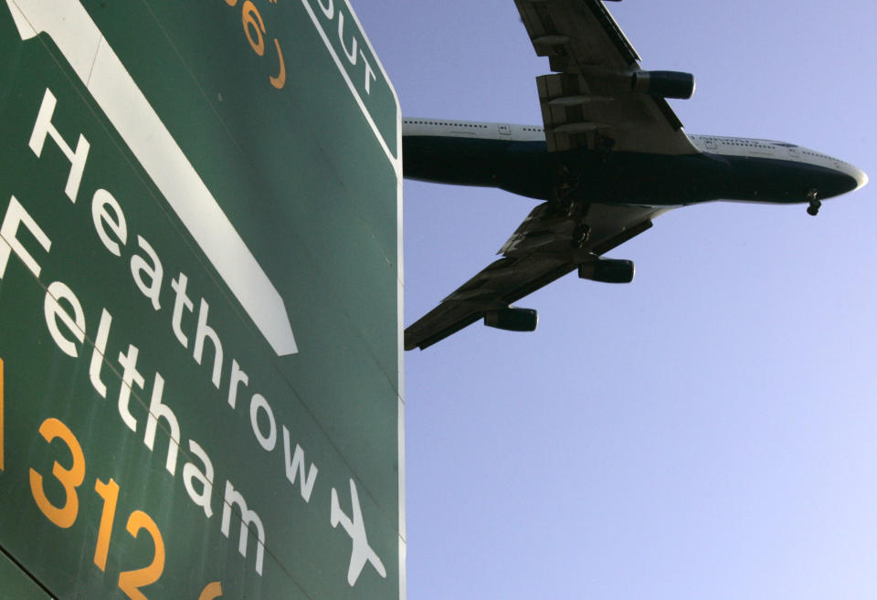 Heathrow warned on a 'catastrophic' hit to traffic. Photo: Luke MacGregor/Reuters