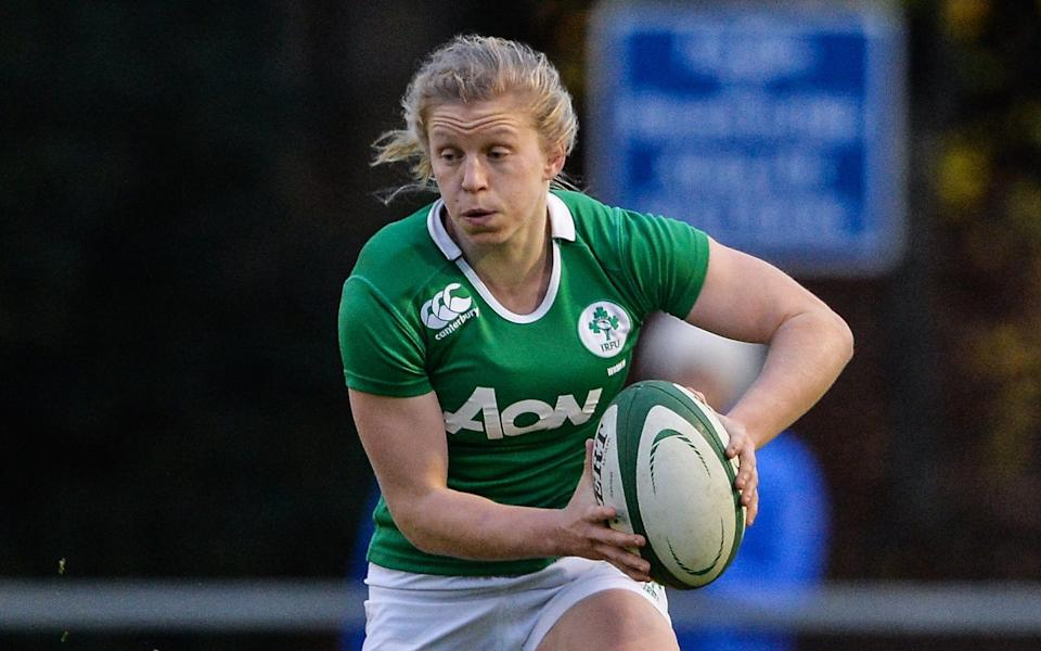 Claire Molloy is set to return for Ireland's match against Italy after a year out to concentrate on her medical career - GETTY IMAGES