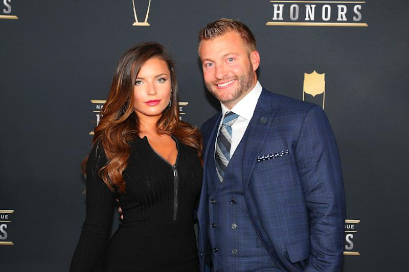Rams coach Sean McVay engaged to model girlfriend
