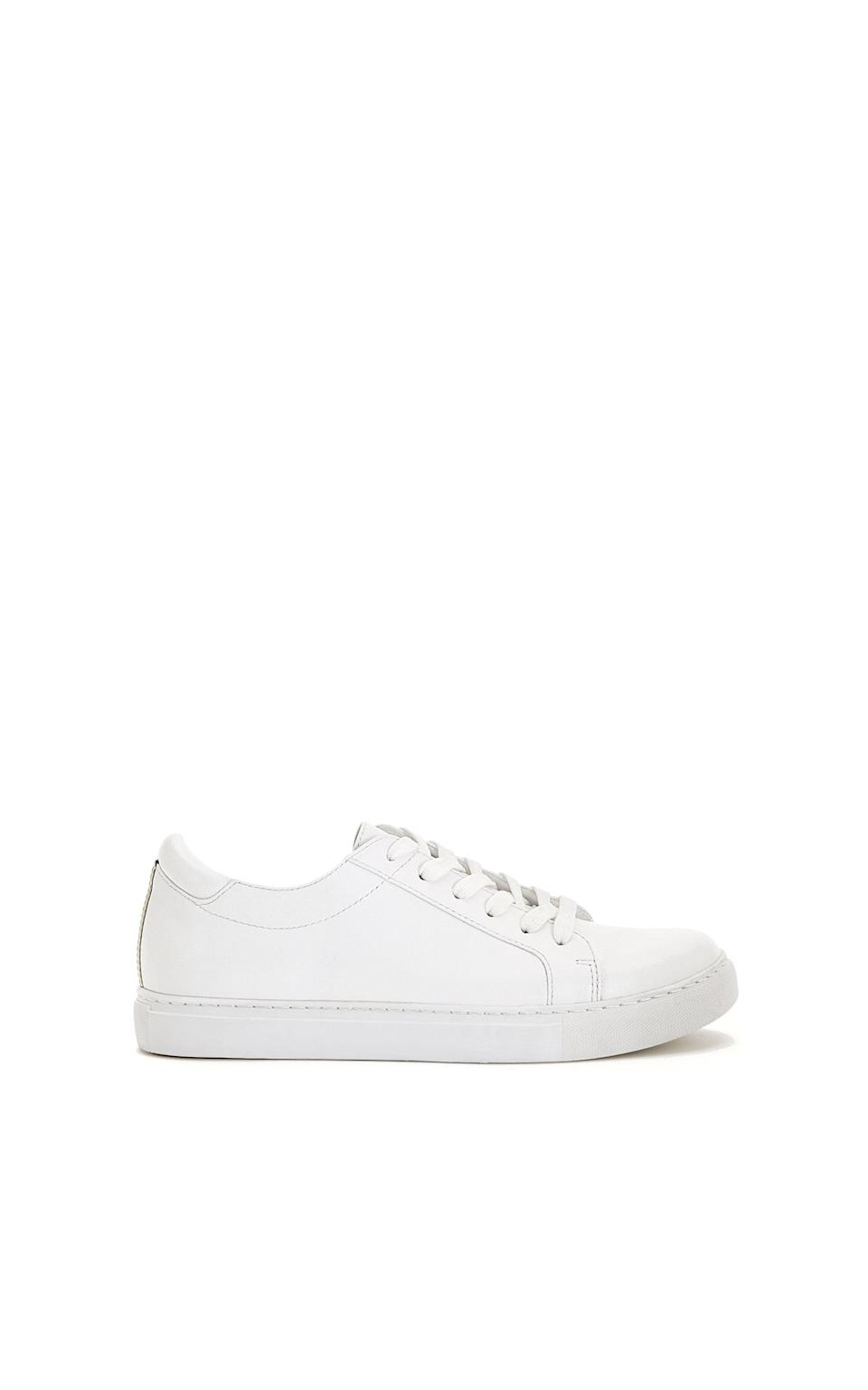 <p>Celebrities like Kendall Jenner and Gigi Hadid have been known to wear <span>Kenneth Cole's Kam Sneaker</span> ($120) on repeat.</p>