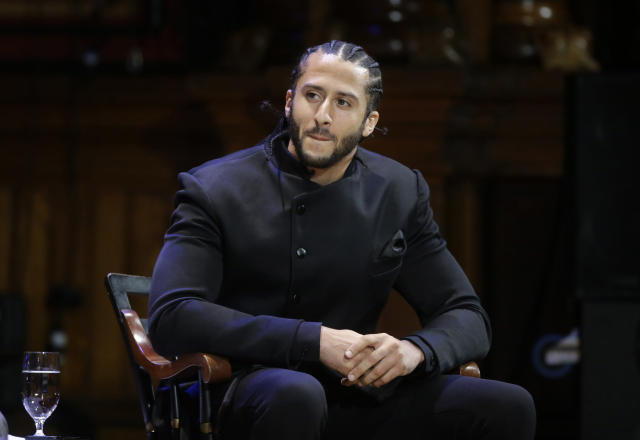 Former NFL football quarterback Colin Kaepernick reportedly requested a lot of money to play in the AAF. (AP)