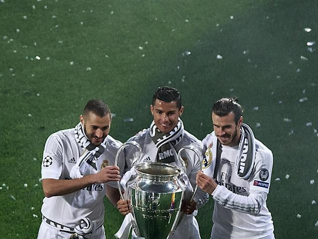 The 'BBC' have led Real Madrid to two Champions League titles (Getty)