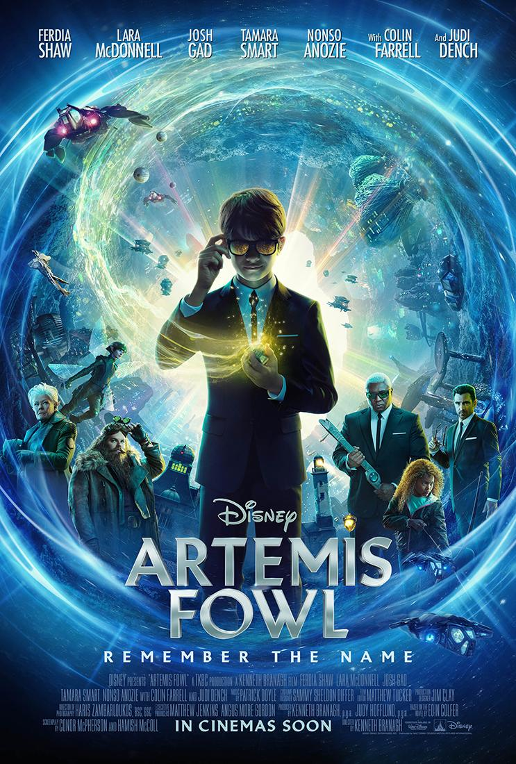 The new poster for Disney's Artemis Fowl. (Disney)