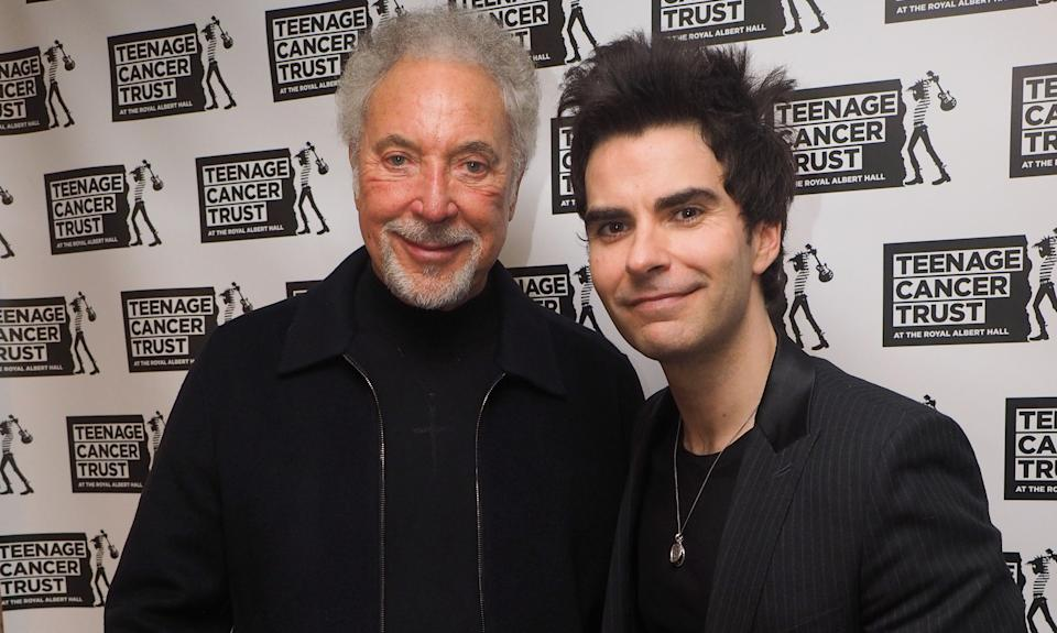 Stereophonics frontman Kelly Jones has invited Sir Tom Jones to join the band at their homecoming gig. (Getty Images)