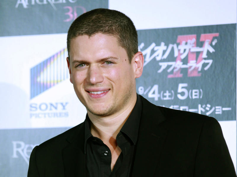 """FILE - This Sept. 2, 2010 file photo shows actor Wentworth Miller at the world premiere of """"Resident Evil: Afterlife"""" in Tokyo. Miller is declining an invitation to be an honored guest at a film festival in Russia because he is gay. The 41-year-old actor said in a letter Wednesday to organizers of the St. Petersburg International Film Festival that he is """"deeply troubled"""" by the attitudes toward and treatment of gay people by the Russian government, which passed a law in June against representations of """"nontraditional sexual relations."""" (AP Photo/Shizuo Kambayashi, File)"""