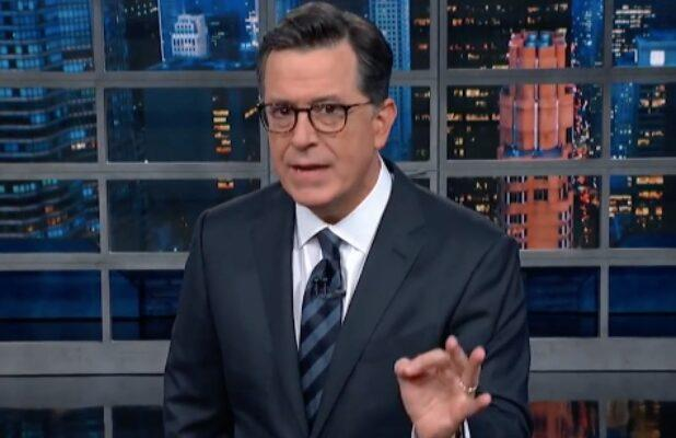 Stephen Colbert Mocks Trump's State of the Union Address While 'Drunk at Work' (Video)