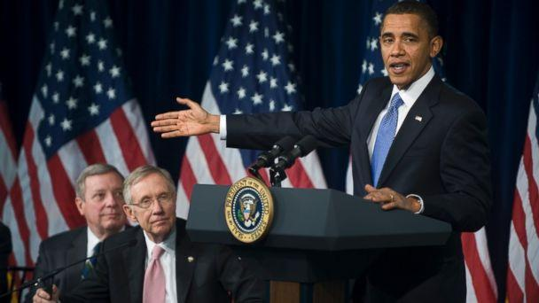 GTY reid durbin obama ml 131024 16x9 608 White House Bungles Leak About GOP Leader Trashing Obama
