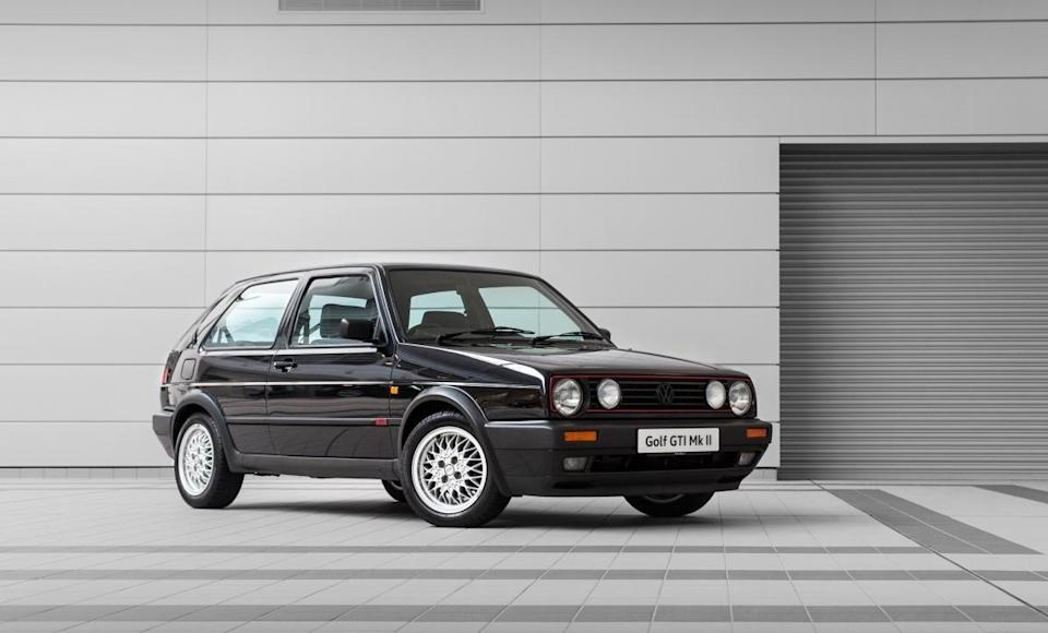 The second-generation Golf evolved on from the original