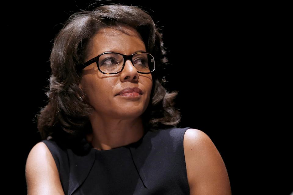 Audrey Pulvar. - CHARLY TRIBALLEAU / AFP