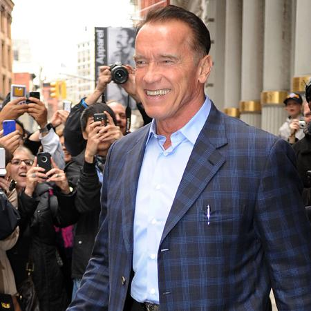 Arnold Schwarzenegger: I never fight with wife