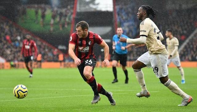 Bournemouth winger Ryan Fraser (L) has rejected a contract extension (AFP Photo/Glyn KIRK )