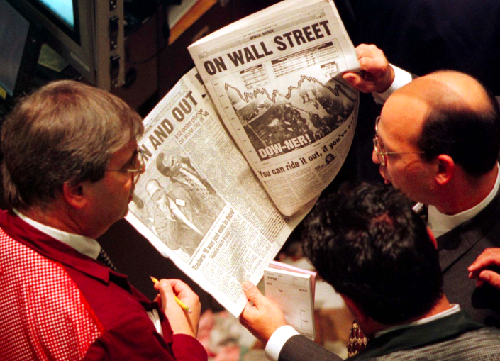 What's the stock market doing? (Reuters)