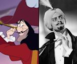 """<div class=""""caption-credit""""> Photo by: Walt Disney/Everett Collection</div><b>Captain Hook/Hans Conreid</b> <br> With his arch voice and strong, lively face, Conreid was the perfect model for """"Peter Pan's"""" (1953) evil Captain Hook."""