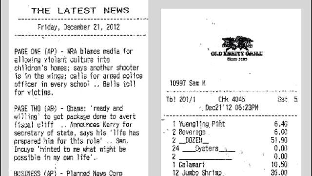 Famous DC Eatery Serves News With Check