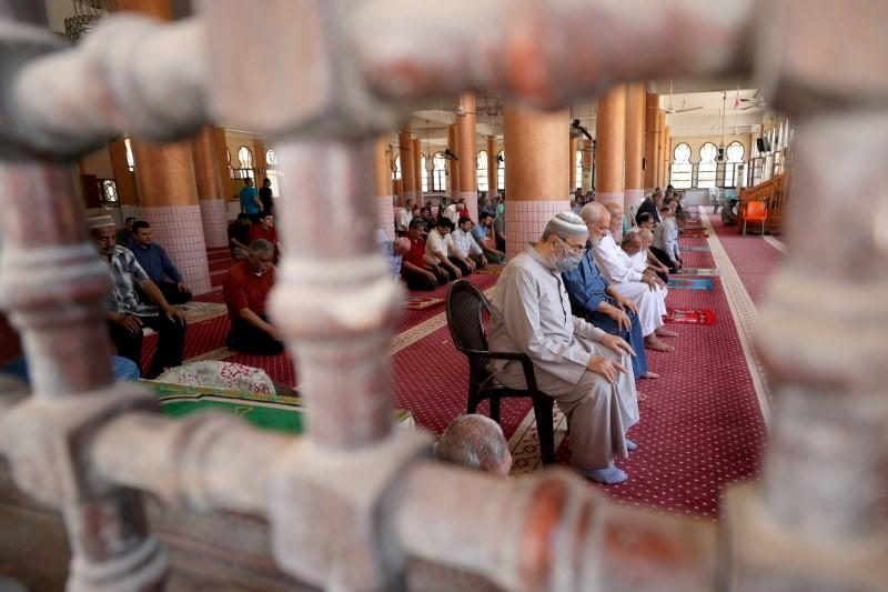 """People's joy at reopened mosques in Gaza """"a blessing"""" says imam"""
