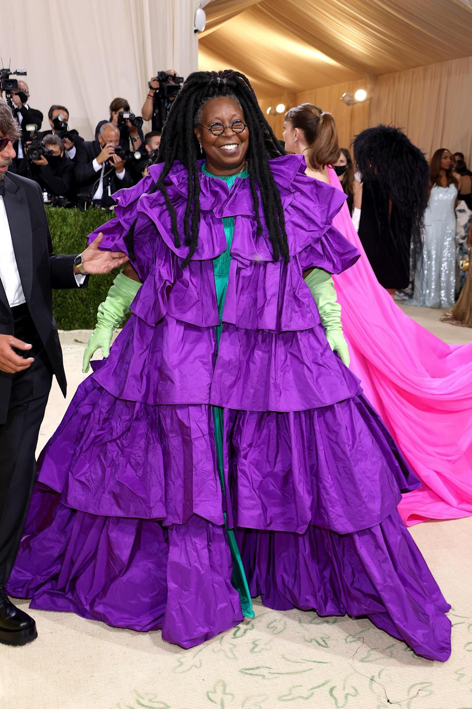 """<h1 class=""""title"""">Whoopi Goldberg, The 2021 Met Gala Celebrating In America: A Lexicon Of Fashion - Arrivals</h1><cite class=""""credit"""">Getty</cite>"""