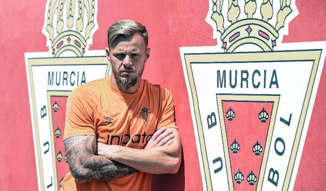 I'Anson is part of a select group of Englishmen to have played in Spain's top three tiers this season (AFP Photo/JOSE JORDAN)