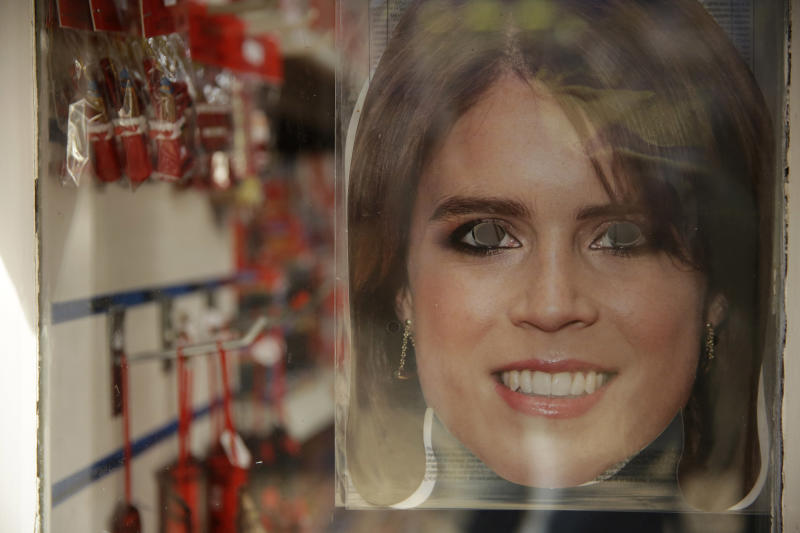 Celebs and royals rub shoulders at Princess Eugenie's wedding