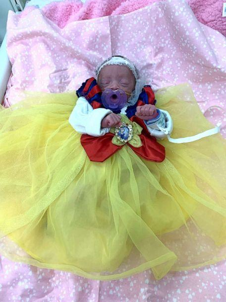 PHOTO: This little girl looks like a real princess in her Snow White costume. (Advocate Children's Hospital)