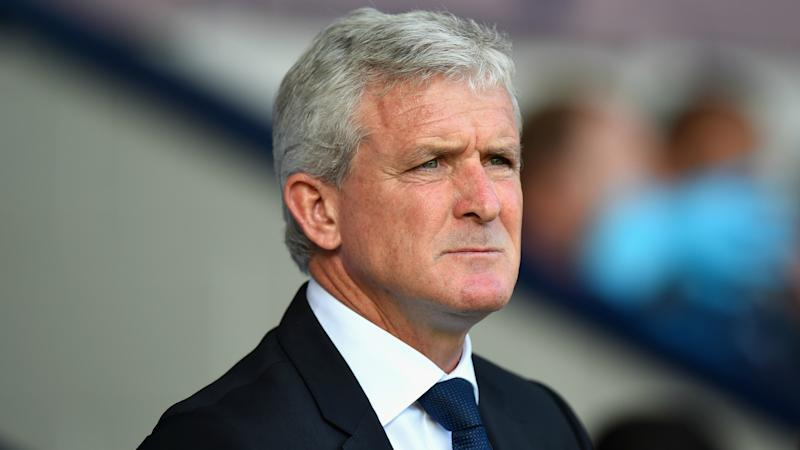 Mark Hughes to field strong Stoke City side at Ashton Gate