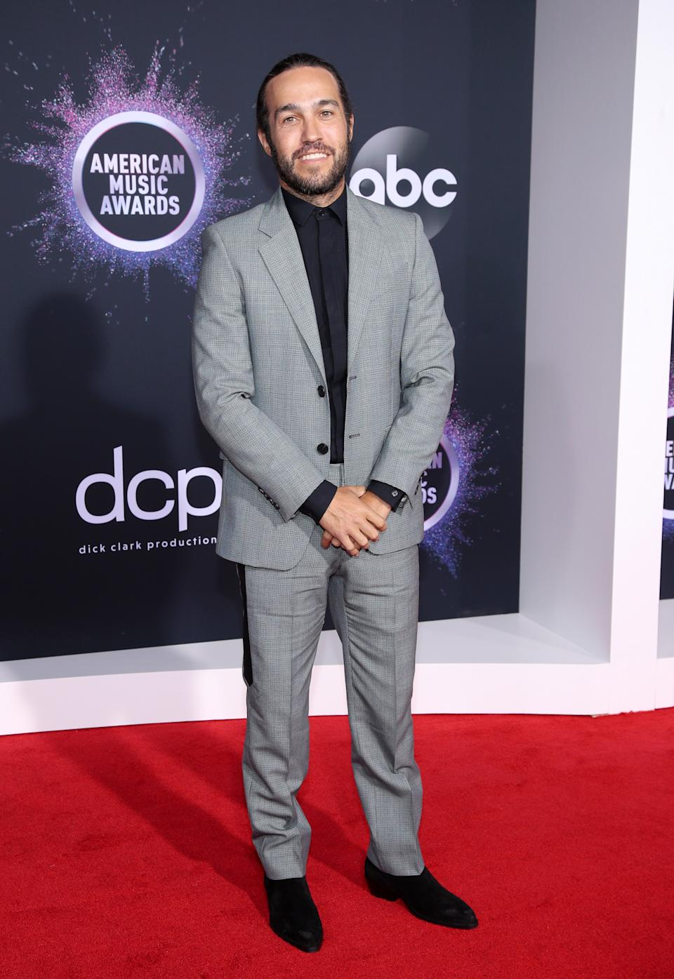 """<h1 class=""""title"""">Pete Wentz in Givenchy, The Kooples and Saint Laurent shoes</h1><cite class=""""credit"""">Photo: Getty Images</cite>"""