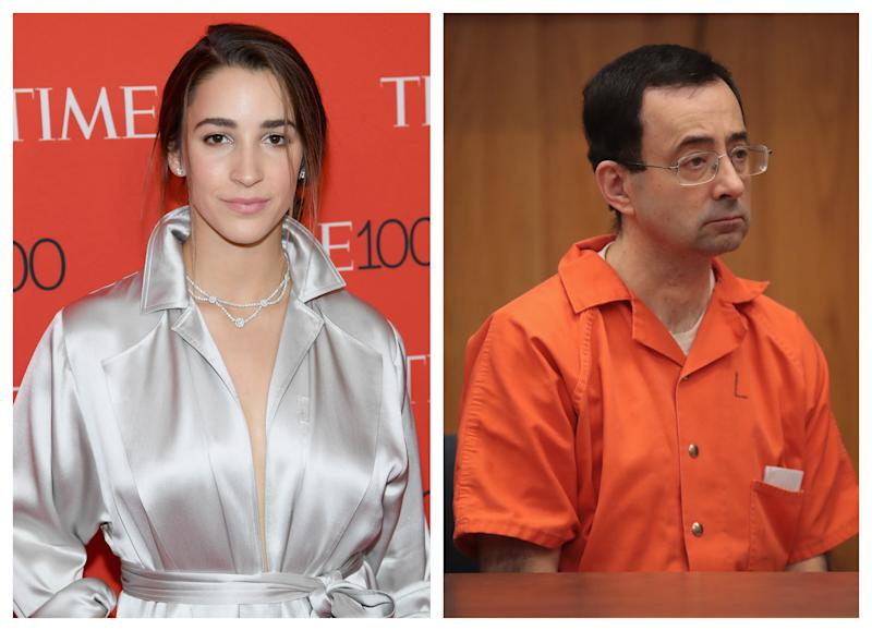 Aly Raisman and the Larry Nassar victims will be recognized