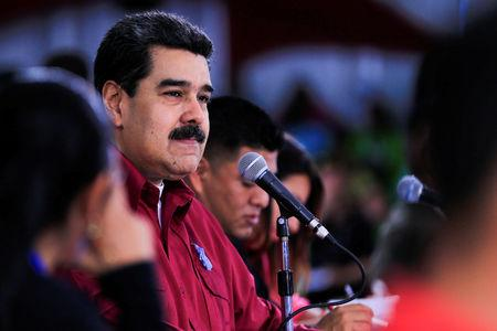 Venezuelans fume as Maduro filmed munching on meat in Turkey