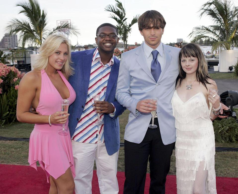 <p>Robin Hibbard left behind her job at Coyote Ugly in Tampa, Florida, for her spot on the 2004 season of <em>The Real World: San Diego</em>. The outgoing and bubbly 24-year-old was known as the house's resident party girl. </p>
