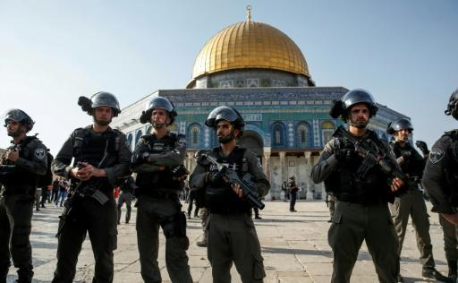 Clashes between Palestinians, Israeli police at Jerusalem holy site: AFP