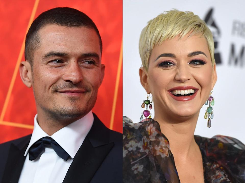 Orlando Bloom and Katy Perry met in 2016.