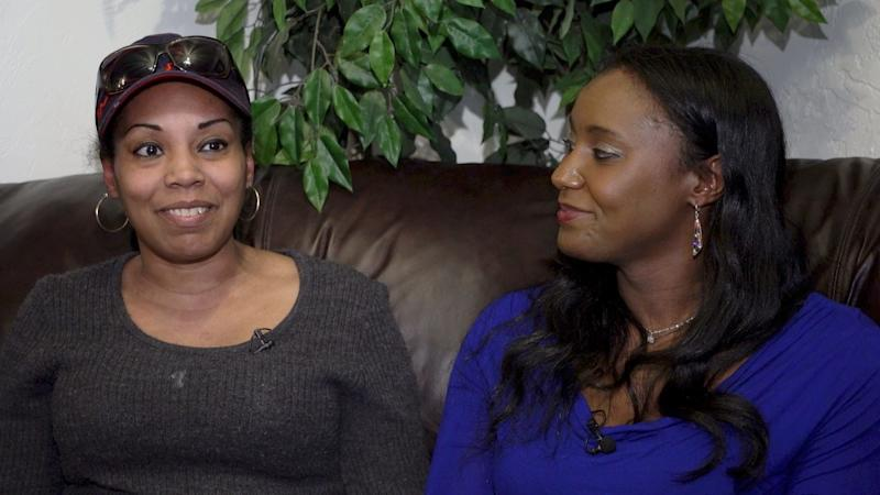 Alaska -Juneau, Alaska - Nicole Robinson-Wells and Sarita Knull, Linda Skeek's foster sisters, recall how close they were to Linda were growing up. Skeek went missing in Anchorage in 2016 and her husband, Thomas Skeek, was charged with her murder. Thomas Skeek was acquitted of all charged in 2019. [Via MerlinFTP Drop]