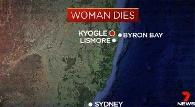 The fatal incident happened in Kyogle. Photo : Channel 7
