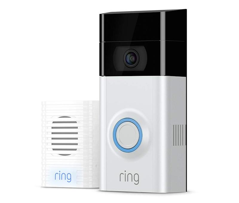 This smart home video doorbell works with Alexa! (Photo: Amazon)
