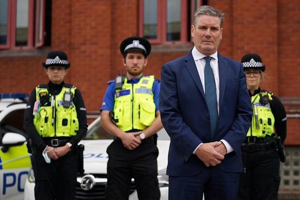 Much, if not most, of what is to be found in Keir Starmer's magnum opus has already been promised by Tory governments (PA)