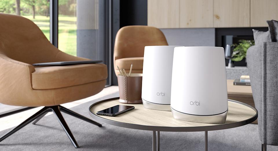 Losing wi-fi signal is one of many people's pet peeves, especially when working home.  But there are a range of solutions to help.  (Orbi)