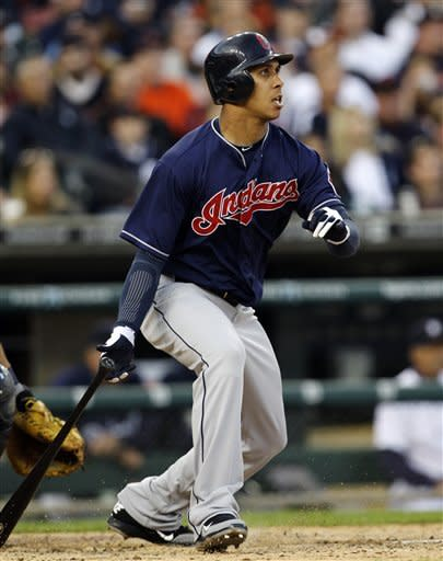 Indians hit 3 RBI triples in 4-2 win over Tigers