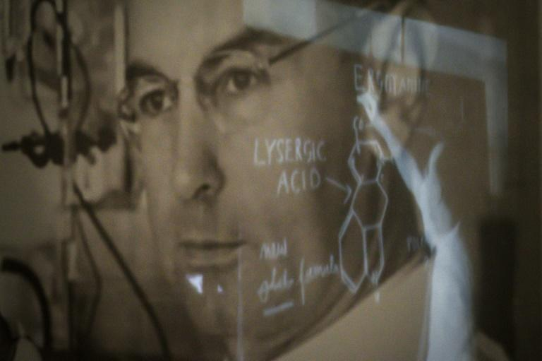 Late Swiss chemist Albert Hofmann learned of LSD's psychedelic effects when he inadvertently took a small dose while doing lab work for the pharmaceutical company Sandoz
