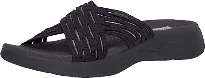 Skechers Womens Go Run 600 - Sunrise Slide Sandal. Image via Amazon.