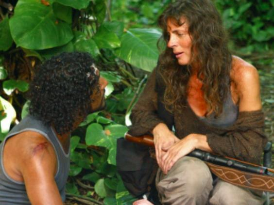 Sayid (Naveen Andrews) met Danielle Rousseau (Mira Furlan) in the show's first season (Buena Vista)