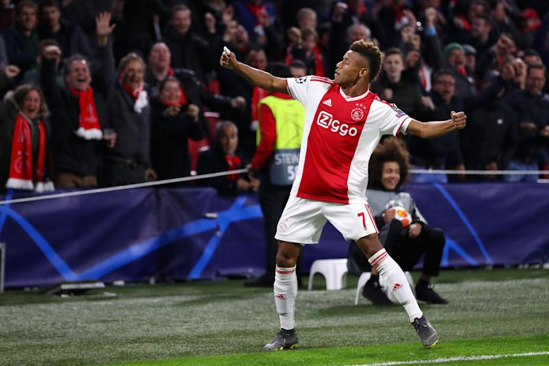 Ajax have received a substantial offer for David Neres. (Credit: Getty Images)
