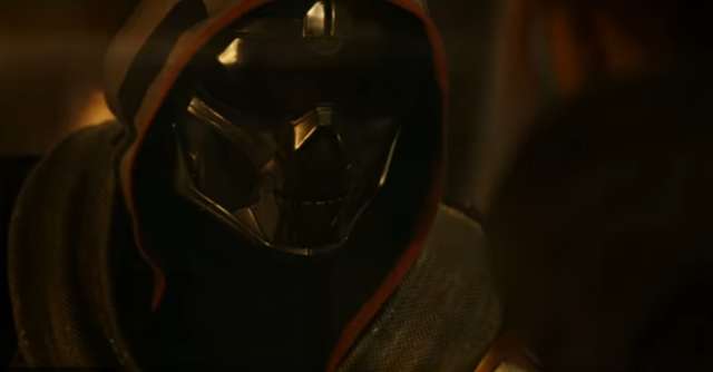 Taskmaster in Black Widow (Marvel/Disney)