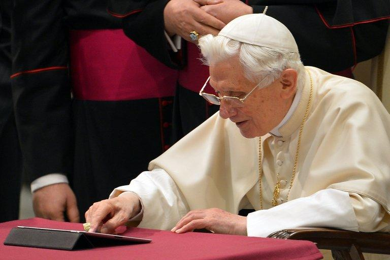 The first tweet marks a milestone in Vatican communication efforts