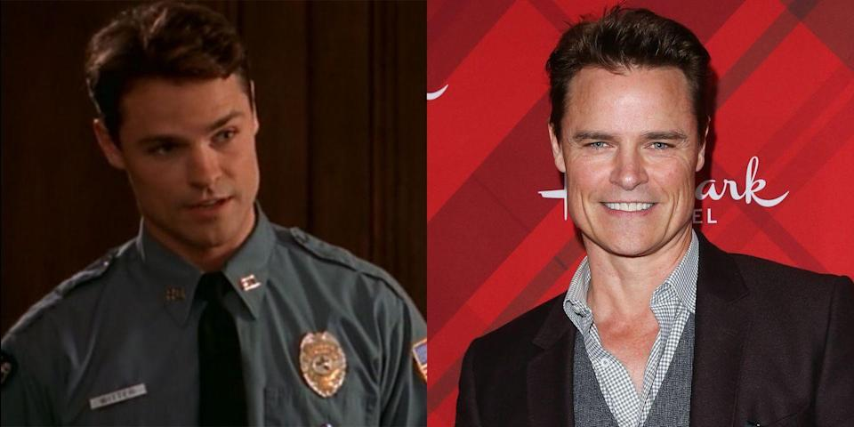<p>Outside of bossing and being a dad figure to Pacey (big bros always know best), Doug had the best collection of tight police uniforms in Capeside. His personal life didn't get interesting until the series finale, when the show finally rewarded him with his true love, Jack McPhee. IRL, actor Dylan Neal was most recently seen in the <em>Fifty Shades</em> films, playing Anastasia's stepfather Bob.</p>