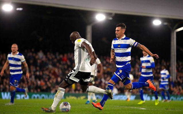 Fulham's Aboubakar Kamara scored twice to help his side move up to fourth in the Championship table - PA