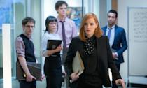 "<p>'Miss Sloane' is a razor sharp, intricately plotted and relentlessly paced political thriller, held together by a compelling performance from Jessica Chastain as a lobbyist who's always three steps ahead. It's a fantastic character study, with the most satisfying conclusion of any of the movies I saw this year. – <i><a href=""https://twitter.com/morelandwriter"" rel=""nofollow noopener"" target=""_blank"" data-ylk=""slk:Alex Moreland"" class=""link rapid-noclick-resp"">Alex Moreland</a></i>. (eOne) </p>"