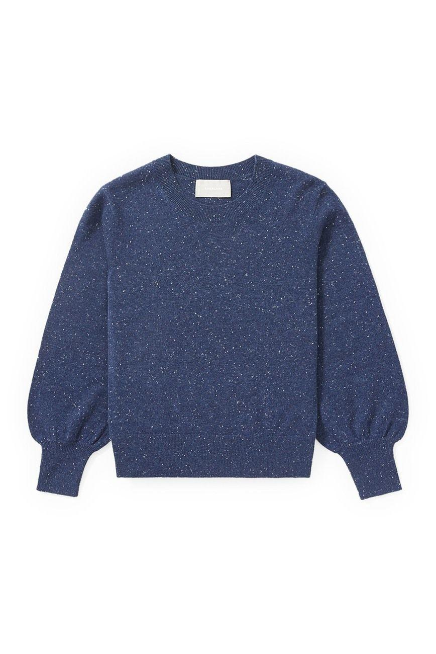 "<p><strong>Everlane</strong></p><p>nordstromrack.com</p><p><strong>$59.97</strong></p><p><a href=""https://go.redirectingat.com?id=74968X1596630&url=https%3A%2F%2Fwww.nordstromrack.com%2Fshop%2Fproduct%2F3236199&sref=https%3A%2F%2Fwww.elle.com%2Ffashion%2Fshopping%2Fg33468956%2Feverlane-nordstrom-rack-sale%2F"" rel=""nofollow noopener"" target=""_blank"" data-ylk=""slk:SHOP NOW"" class=""link rapid-noclick-resp"">SHOP NOW</a></p><p><strong><del>$120</del> $59.97 (50% off)</strong></p><p>Feminine without being fussy, this sweater is made from certified, grade-A cashmere that gets softer with each wear. </p>"