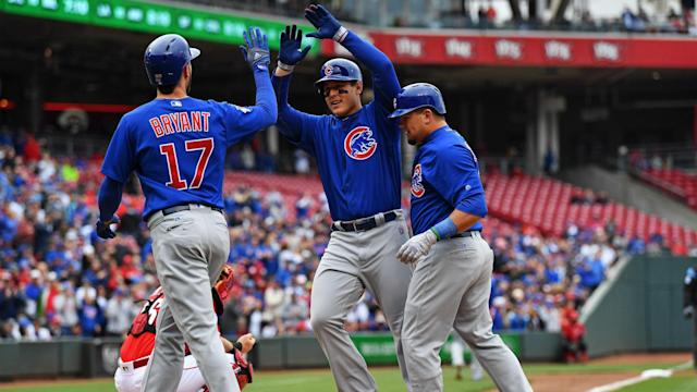 The Cleveland Indians had a comfortable MLB win as the Chicago Cubs and Cincinnati Reds combined to score 20 runs.